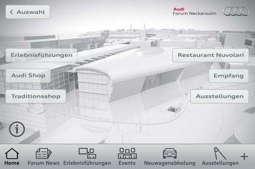 Audi forum neckarsulm restaurant öffnungszeiten
