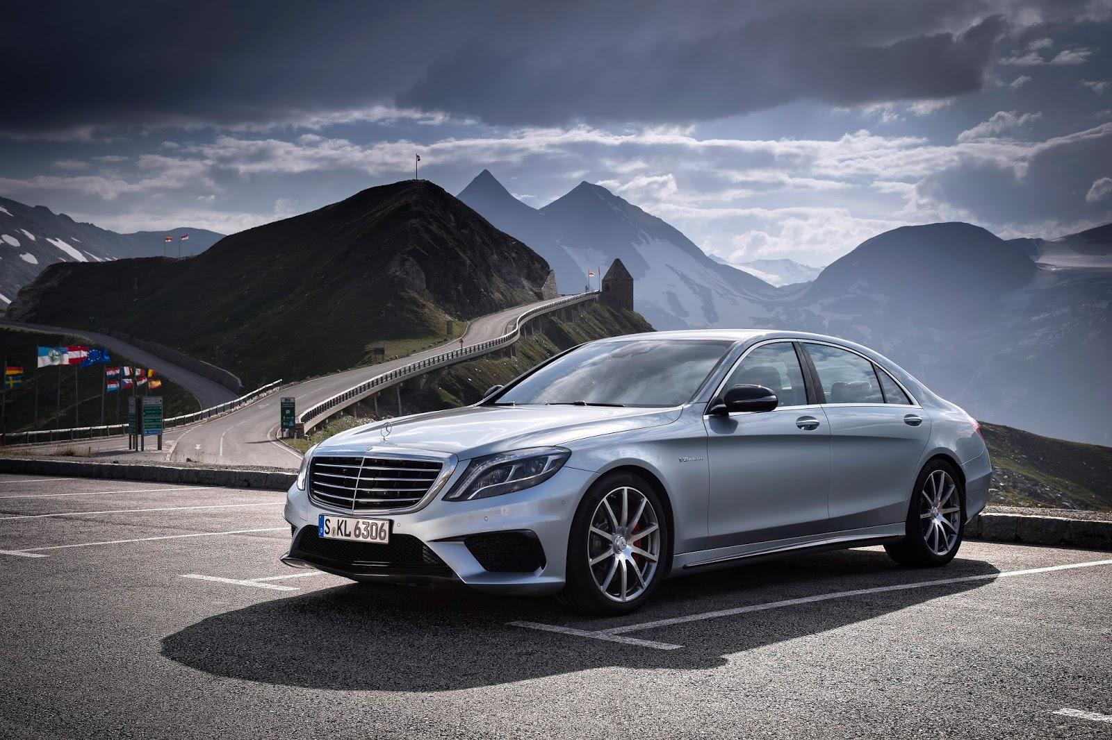 Mercedes-AMG schickt den neuen S 63 AMG ins Rennen: Die stärkste  High-Performance-Limousine im Luxus-Segment setzt neue Akzente